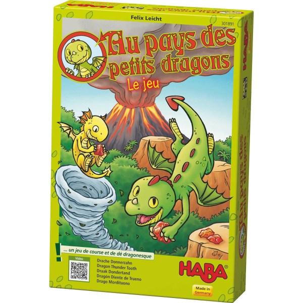Au pays des petits dragons boite du jeu