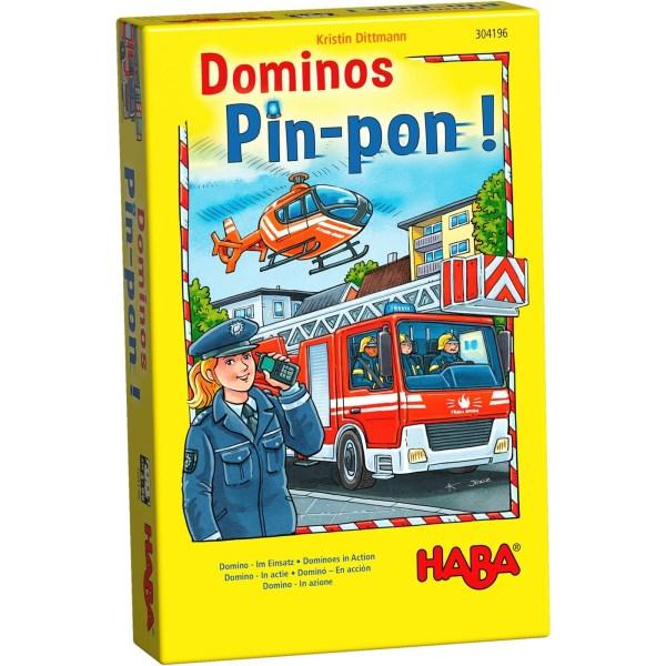 Boite du jeu Dominos Pin-Pon