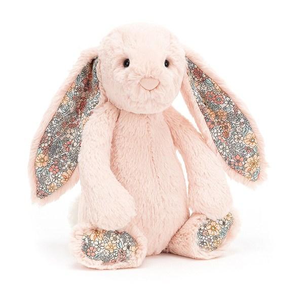Le Blossom Bunny est une peluche parfaite pour la naissance ! À offrir ou à s'offrir, il accompagnera bébé dès sa naissance pour devenir son meilleur ami. Très (très très) doux (même encore plus que ce que vous imaginez), il réconfortera les enfants et partagera leurs joies.