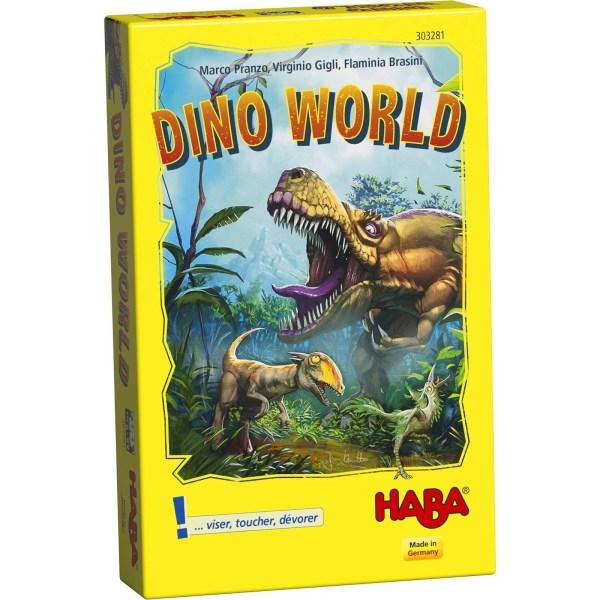 boite du jeu dino world