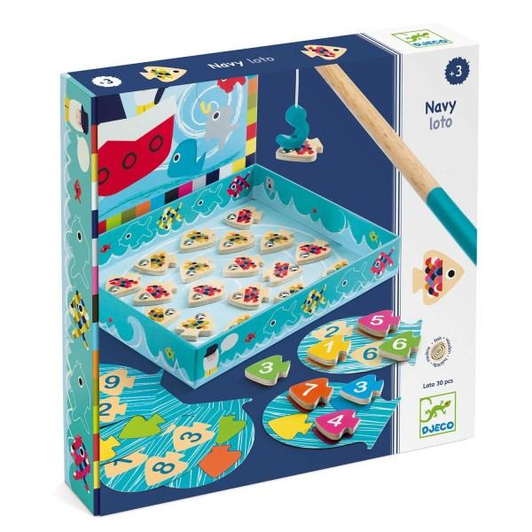 Boite du jeu Navy Loto