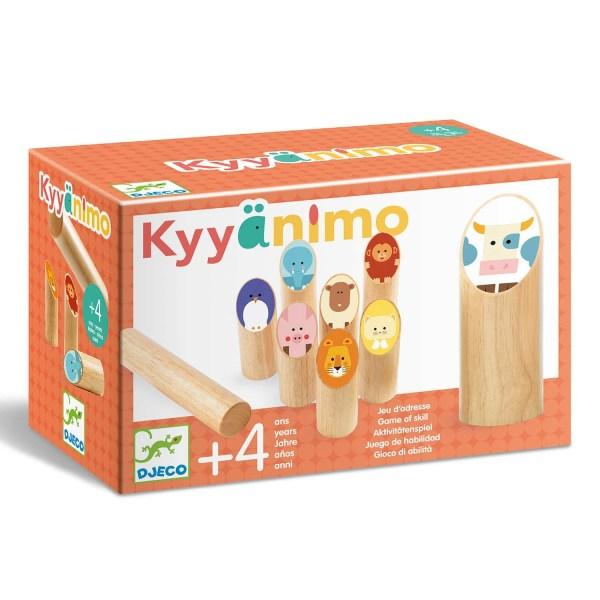 boite des Quilles nordiques Kyyänimo, un Mölkky pour les petits