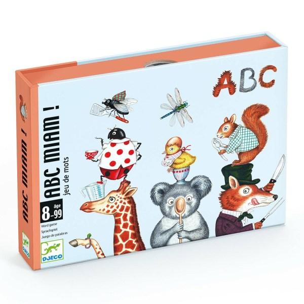 boite du jeu de cartes ABC Miam