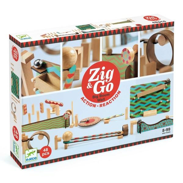 boite du jeu Zig & Go Big Boum Wall