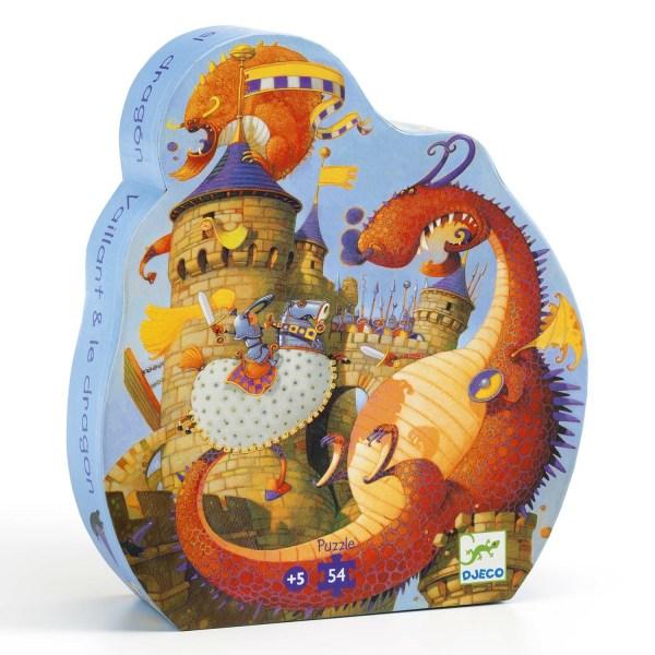 boite du Puzzle Dragon 54 pièces