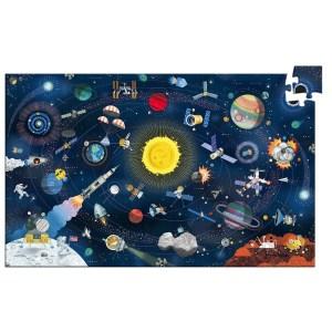 Puzzle espace 200 pièces avec livret
