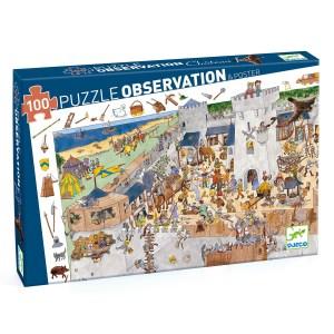 Puzzle observation Château fort 100 pièces