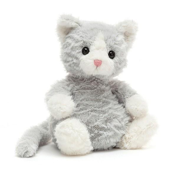 La peluche chat Mitten Kitten est une adorable peluche en forme de chaton. Ce petit minou très câlin est parfait pour les bébés dès la naissance.
