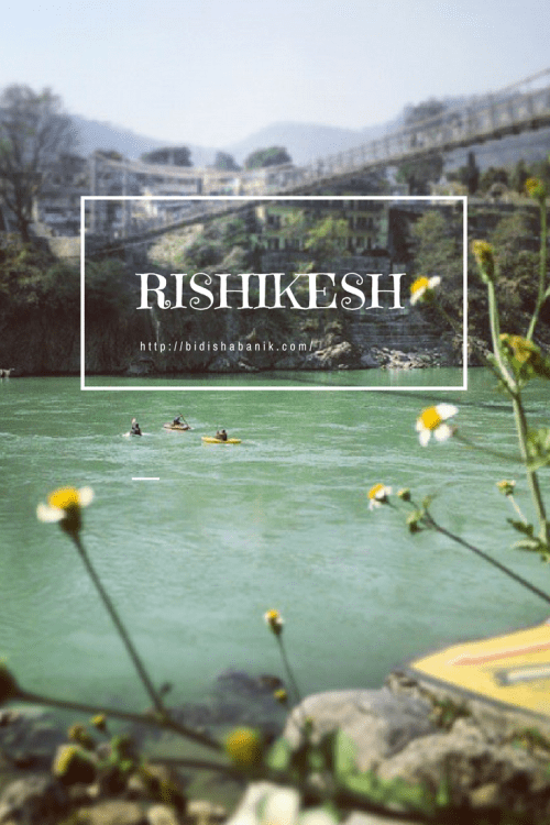 Pinterest image for Rishikesh