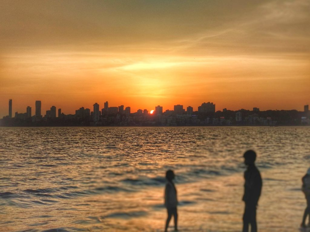 Restless at Marine Drive, Mumbai