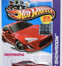 hot wheels 2013 hw showroom scion fr s red factory sealed [ 937 x 1393 Pixel ]
