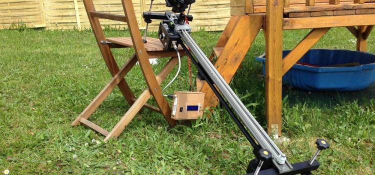 Slider et time-lapse, un projet Père-Fils
