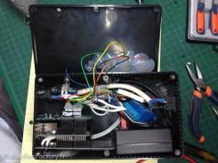 une vue d'ensemble (avant le montage du régulateur LM7805)