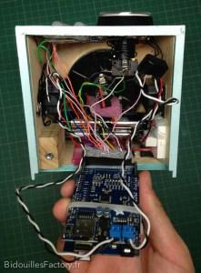 L'Arduino Mega et sa prise de connexion