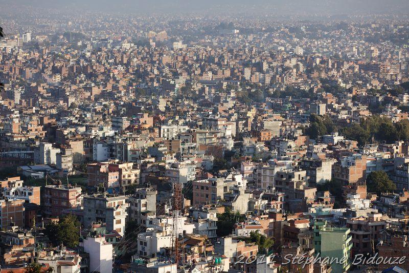 Arriving at Kathmandu
