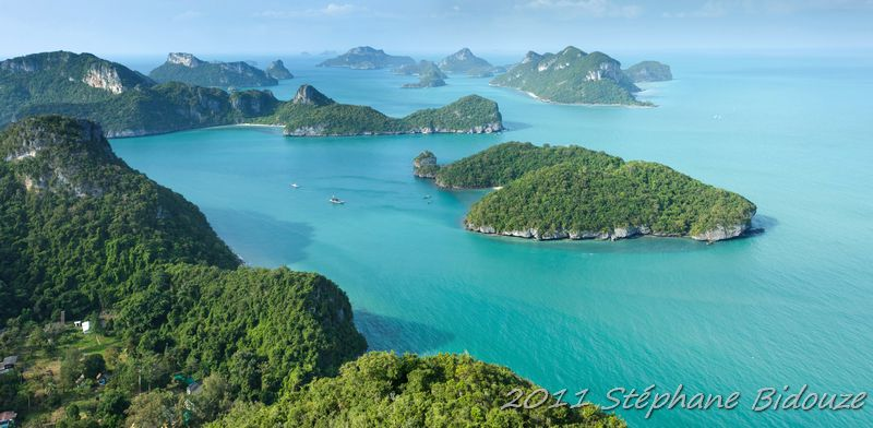 Ko Phangan, Ang thong marine park and back to Bangkok…