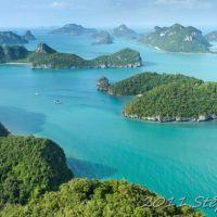 Ko Phangan, l'archipel d' Ang thong et retour à Bangkok...