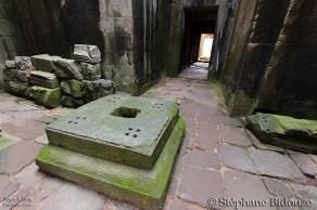 Khmer temple altar
