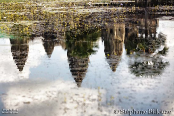 Angkor reflections