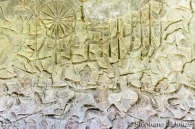 Angkor carving