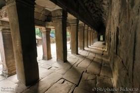 Khmer temple Corridor