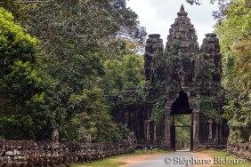 Angkor east gate