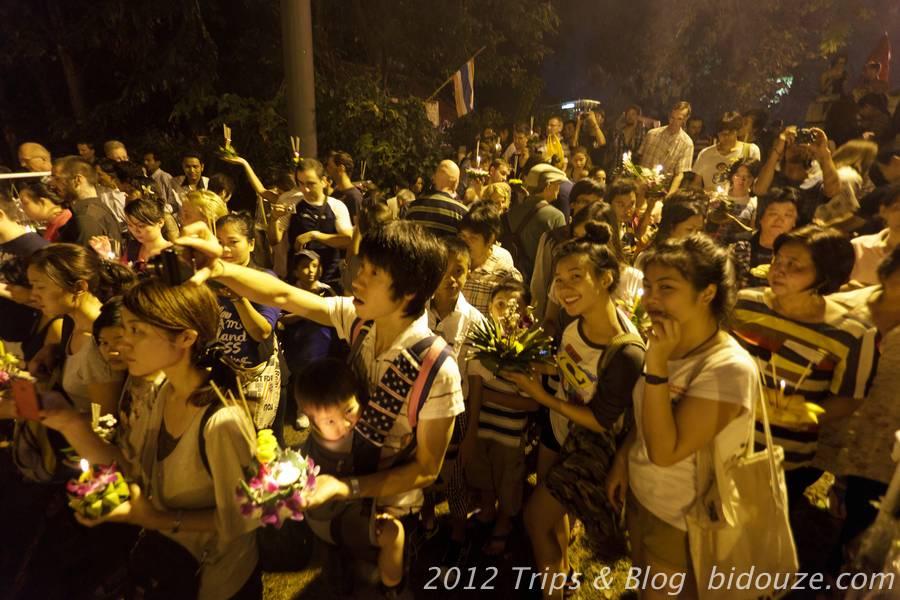 Loy Krathong à Chiang Mai