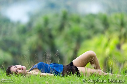 filipina-girl-lying-grass