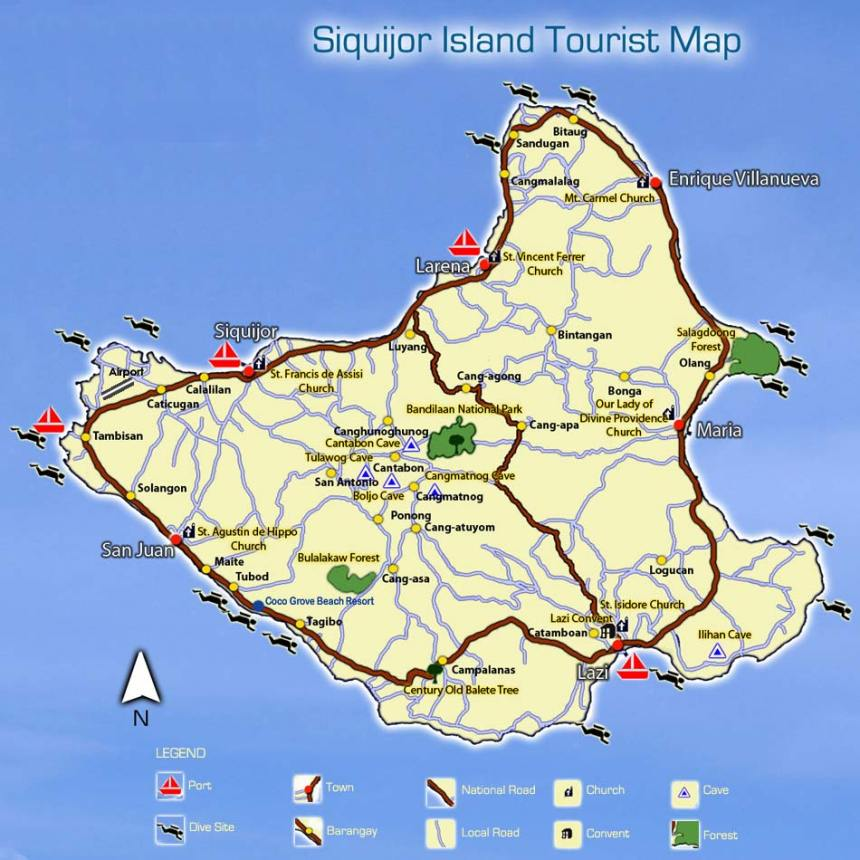 siquijor-carte-map