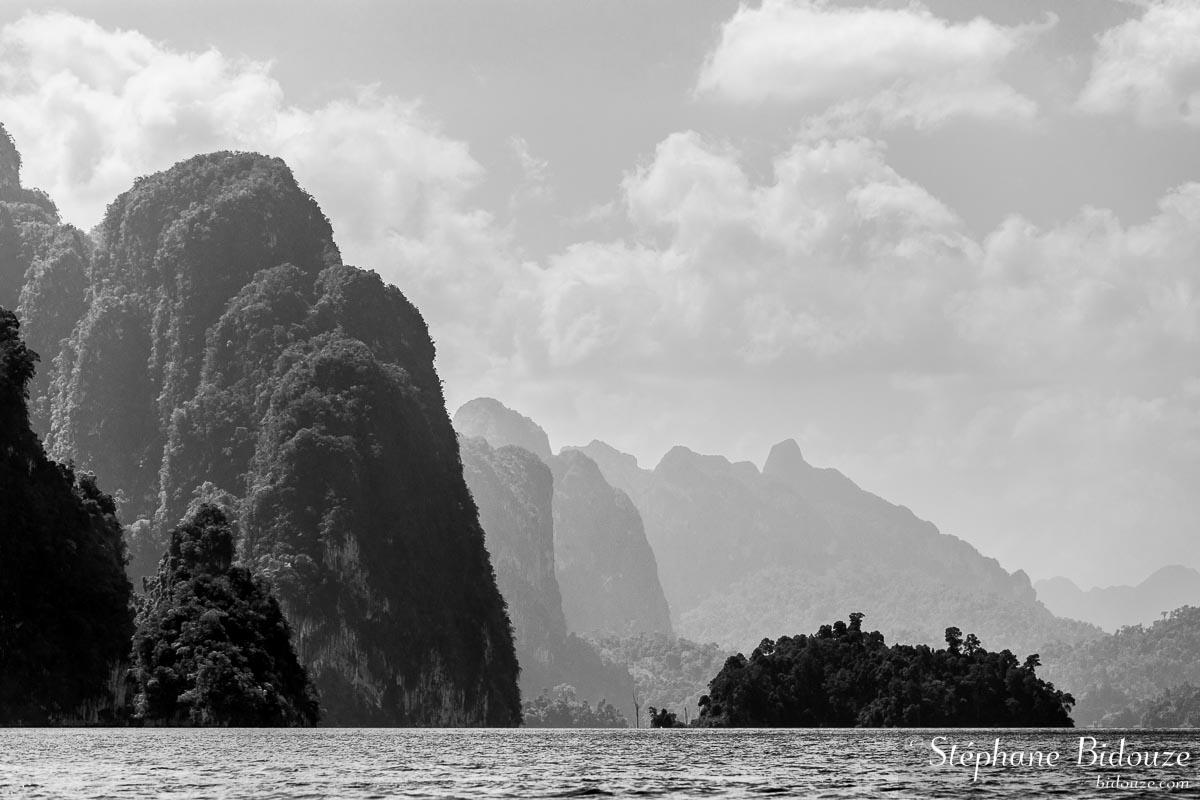 Le parc national de Khao Sok et le lac de Chew Larn