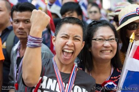 Bangkok: le 15 Janvier avec les manifestants