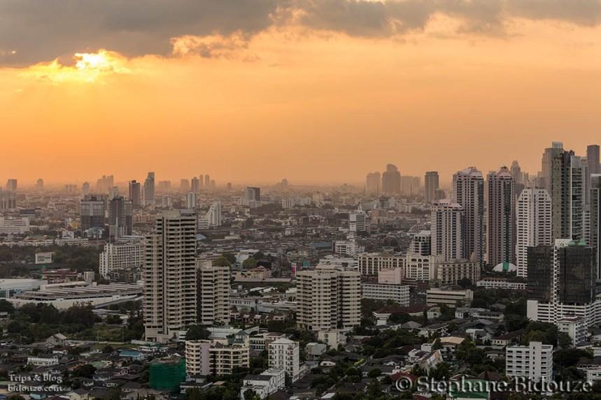 Twilight on Bangkok