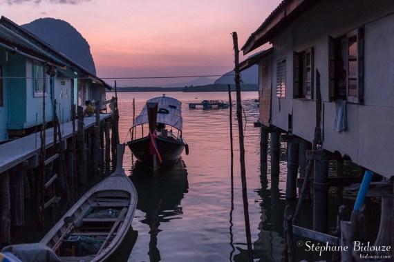 koh-panyi-crépuscule-bateau-rose