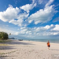 Les vastes plages de Khanom