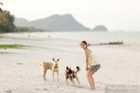 Julie est une future vétérinaire (réellement).