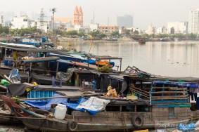 bateaux-vieux-saigon-rivière-vietnam