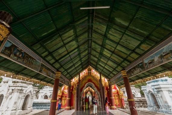 Kuthodaw-pagode-entrée