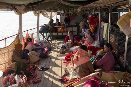 De Mandalay à Bagan en Bateau