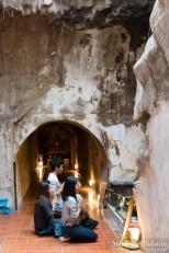 Thaïs priant dans le souterrain