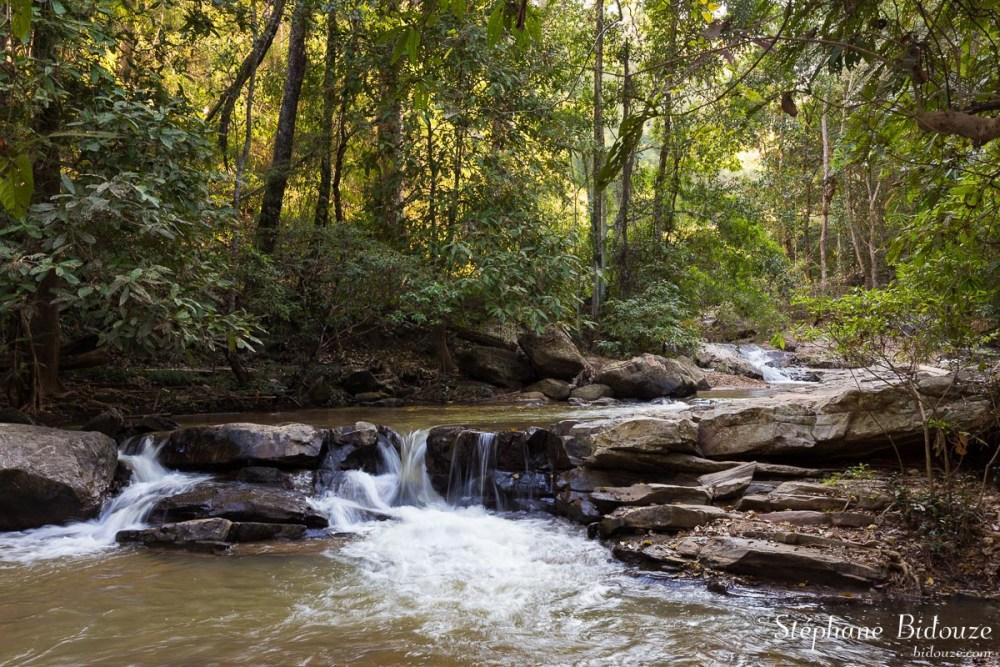 Around  Mae sa waterfall