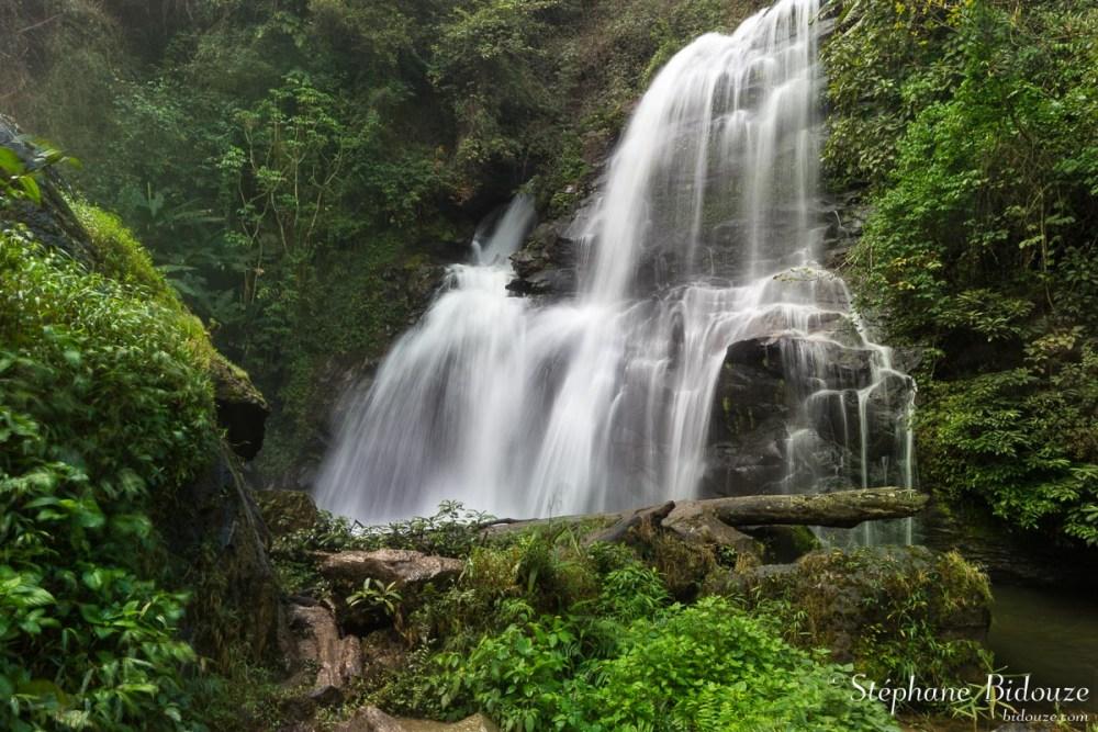 The Pha Dok Seaw waterfall