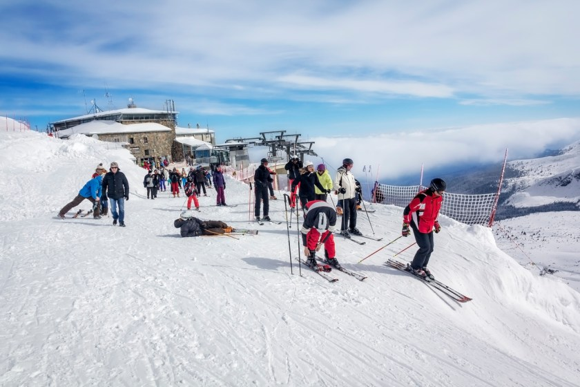 Ski destinations in Europe