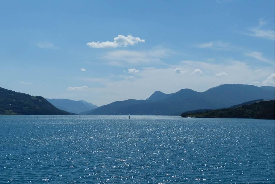 Lac de Serre ponçon 1