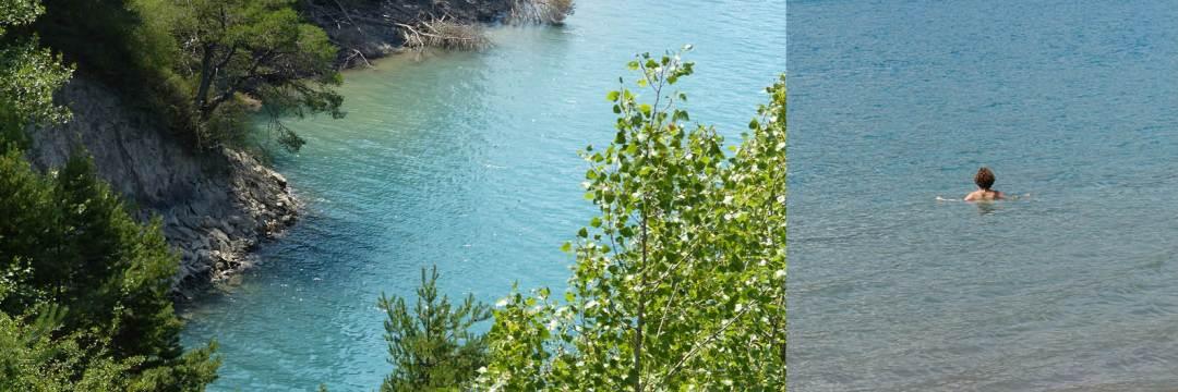 Lac de Serre ponçon 3