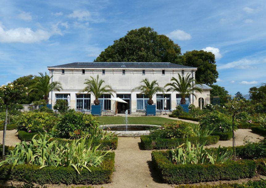 Parc du palais de compiegne - salon de thé