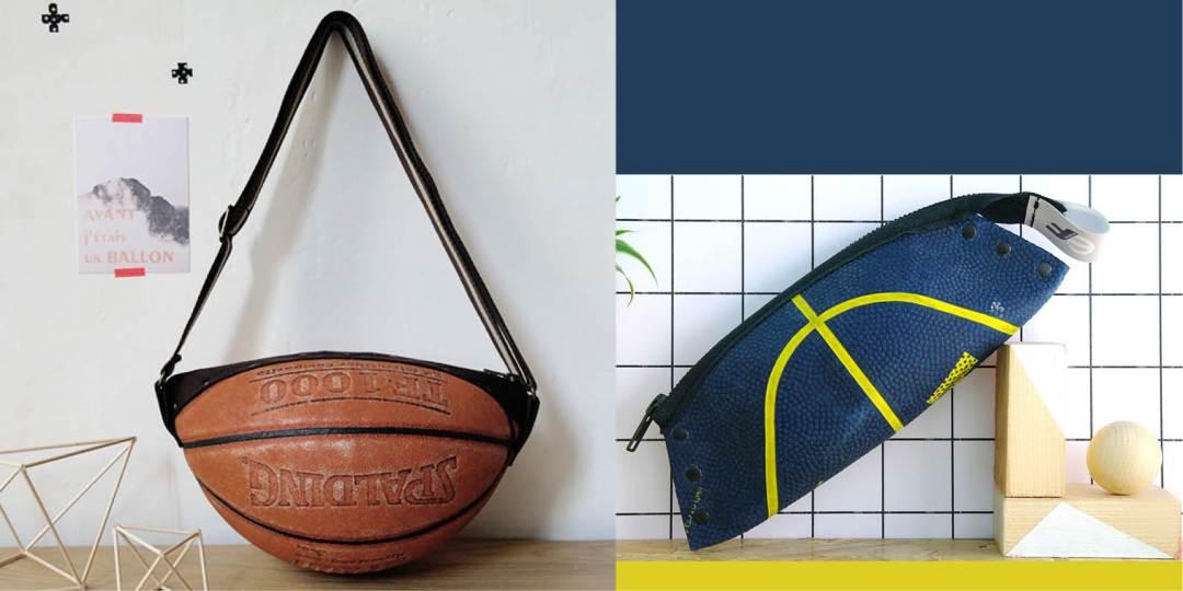 Reversible sac en ballon de basket - bidule et cocotte