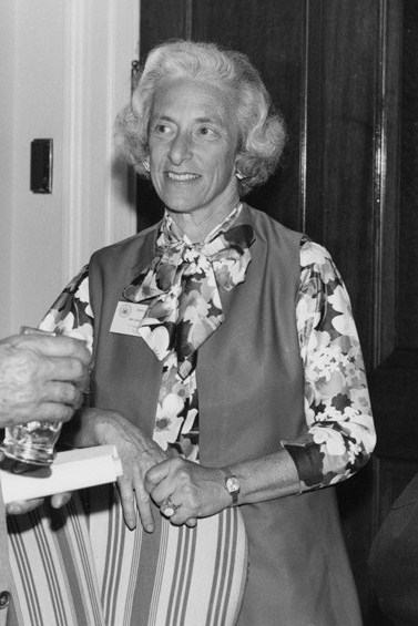 Photo of Barbara W. Tuchman.
