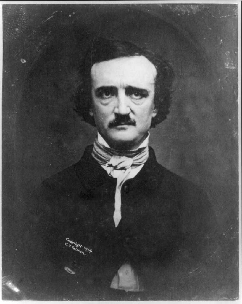 Photo of Edgar Allan Poe.