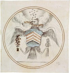 The original design of the United States seal from 1782.