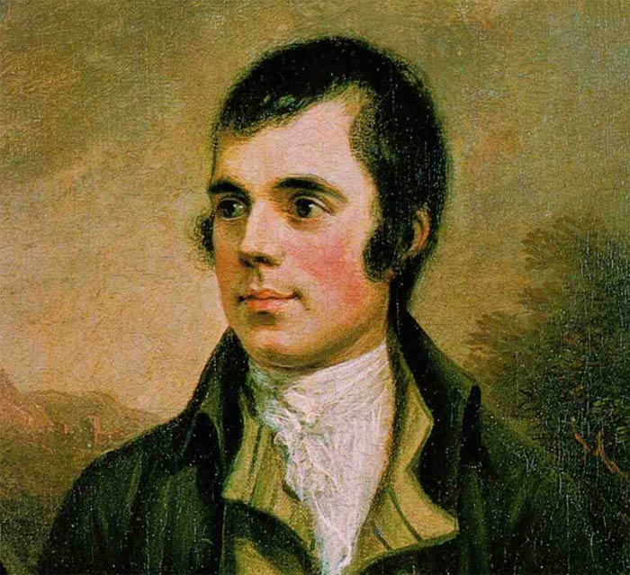 Image of Robert Burns.